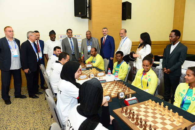 The New FIDE. Photo by Mohamed Bounaji
