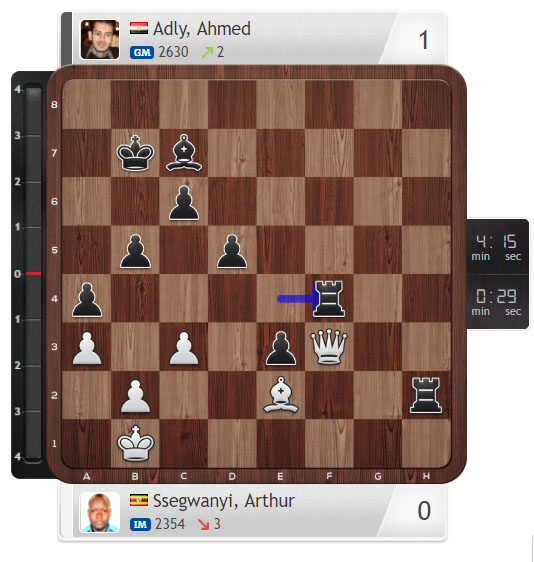 Ssegwanyi-Adly, 12th All-Africa Games (rapid-open)