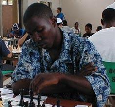 Dwayne Gilkes - Barbados. Copyright © 2002, Barbados Chess Federation.