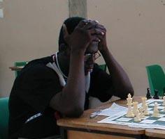 Justin Kirton - Barbados. Copyright © 2002, Barbados Chess Federation.