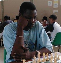 Mark-John Alleyne - Barbados. Copyright © 2002, Barbados Chess Federation.