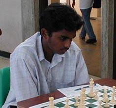 Muralidhar Areti - Barbados. Copyright © 2002, Barbados Chess Federation.