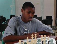 Olaudah Pryce. Copyright © 2002, Barbados Chess Federation.