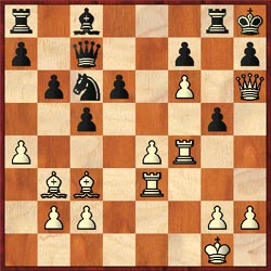 Elson-DelCastilho, 2003 Sagicor Open:  Elson played 26.Rf5! preparing the annihilating Rh3. The game ended 26…Bxf5 27.exf5 g4 28.Re7! Nxe7 29.fxe7+