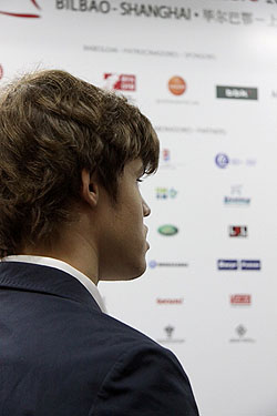 Magnus Carlsen. Photo by Manu de Alba.