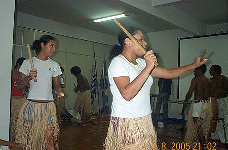Capoeira performers. Copyright © 2005, Daaim Shabazz.