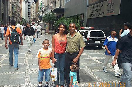 Brazilian family. Copyright © 2005, Daaim Shabazz.