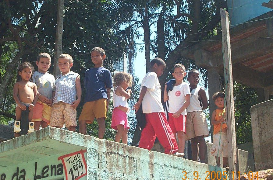Boys in the favela!