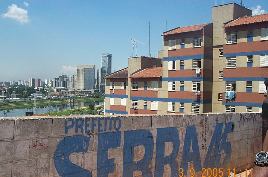 Centro Communitário Ludovico Pavoni in favela near Sao Paulo, Brazil