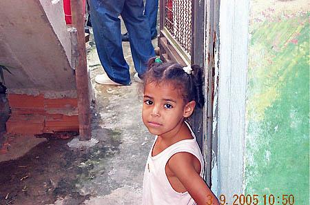 … gaze of adorable girl. Copyright © 2005, Daaim Shabazz.