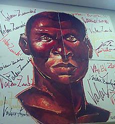Valeu Zumbi... revolutionary of Palmeres Quilombo. Copyright © 2005, Daaim Shabazz.