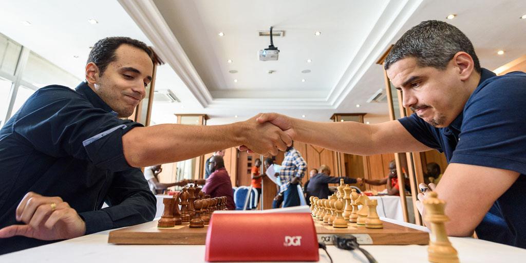 CIV Invitational - Round 1 - Bassem Amin (EGY) - Mohammed Haddouche (ALG)