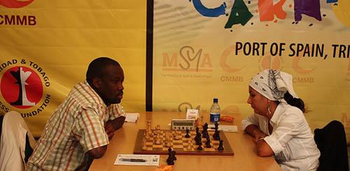 IM Oladapo Adu (Nigeria) vs. WGM Ilaha Kadimova (Azerbaijan)