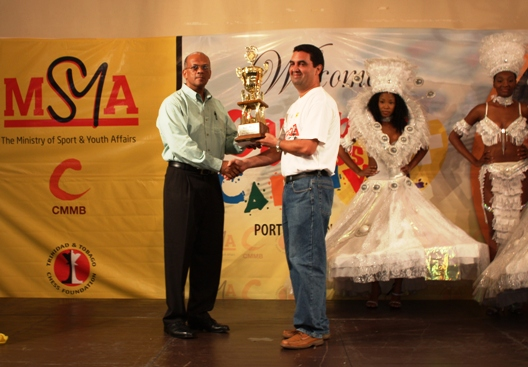 Humberto Pecorelli Garcia win the 2009 Caribbean Chess Carnival