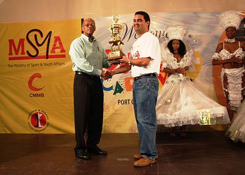 Humberto Pecorelli Garcia win the 2009 Caribbean Chess Carnival