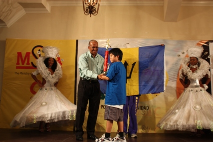 Yu Tien Poon of Barbados, 1st place in under-10. Photo by Trinidad Chess Foundation.