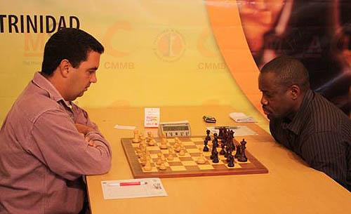 IM Humberto Pecorelli-Garcia (Cuba) vs. IM Oladapo Adu (Nigeria)