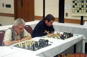 GMs Ildar Ibragimov and Vitali Golod. Copyright © 2004, Daaim Shabazz