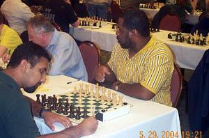 Dushyanth Reddivari vs. Norman Rogers. Copyright © 2004, Daaim Shabazz