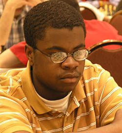 Kayin Barclay at 2007 Chicago Open. Photo by Daaim Shabazz.