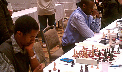 IMs Farai Mandizha and Oladapo Adu in battle!
