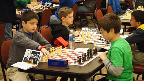 GM Ashley giving simul in Cleveland.