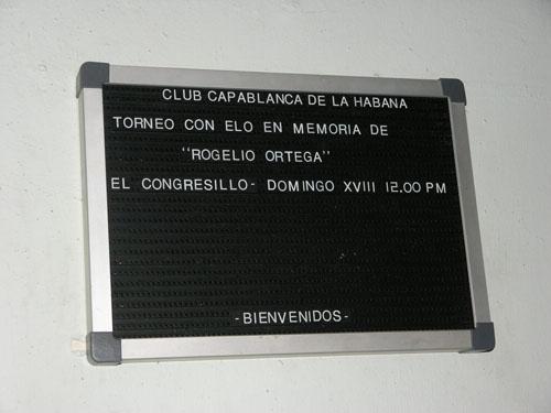 The 2011 Rogelio Ortega Memorial was in progress!
