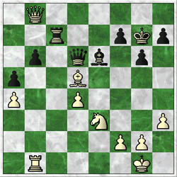 Sokolov-Simutowe: after 42.Bxd5