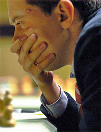 GM Rustam Kasimjanov.   (Photo courtesy of WCC official site)