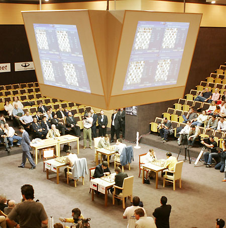 Playing venue of the 2005 FIDE World Chess Championship.