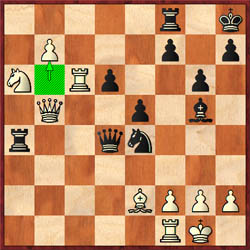 Perhaps Anand missed his chances for a win with 30.b7!