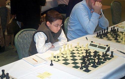 10-year old FM Fabiano Caruana. Copyright © Daaim Shabazz, 2003.