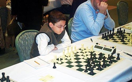 10-year old FM Fabiano Caruna. Copyright © Daaim Shabazz, 2003.