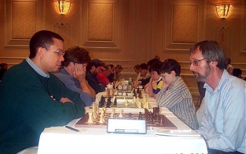 Rodney Thomas (Dallas, Texas) vs. Jim Musumeci. Copyright © Daaim Shabazz, 2003.