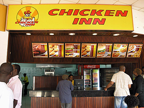 Chicken Inn. Didn't eat here. I was taken for a drive and I found...