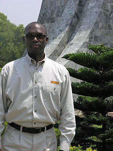 Daaim at Nkrumah Memorial.