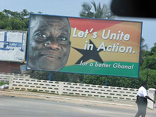 President urging unity!