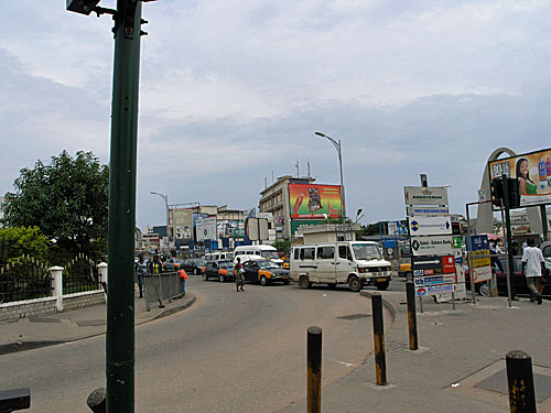 Hustle and Bustle of Ghana