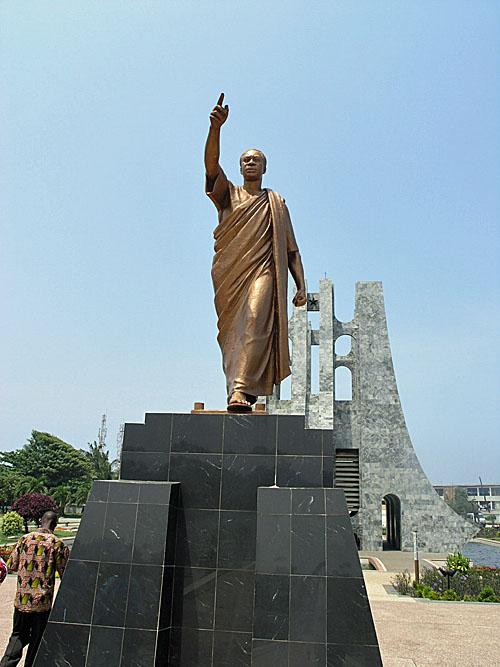 Nkrumah Statue