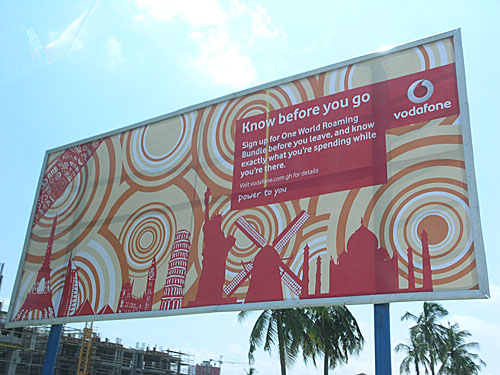 Vodaphone, the big Ghanaian cell carrier. It was once government-owned, but they privatized.