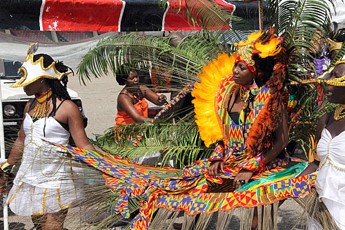 Carnival! Now we know where the the Caribbean and Latin America received inspiration.