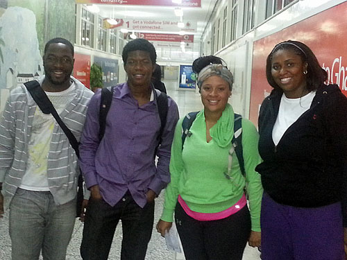Students from Florida A&M University in Ghana.