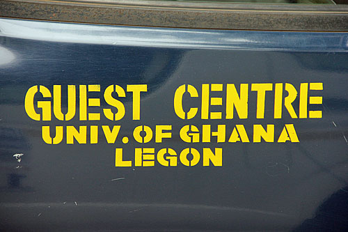 University of Ghana at Legon Guest Center