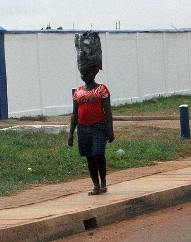 African women have mastered the concept of good posture and dignified walk.