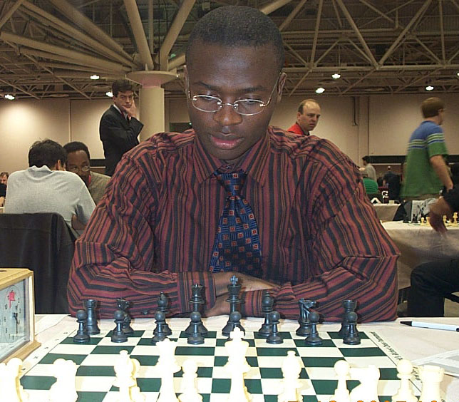Amon Simutowe at 2005 HB Chess Challenge