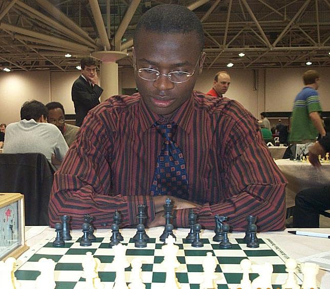 Amon Simutowe at 2005 HB Chess Challenge