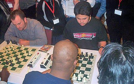 Nakamura and Corblahh blitzing