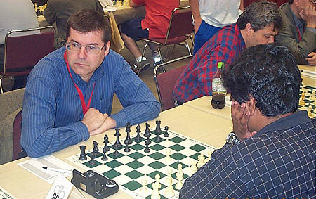 GM Igor Glek (Germany) vs. Nirosh DeSilva (Sri Lanka)