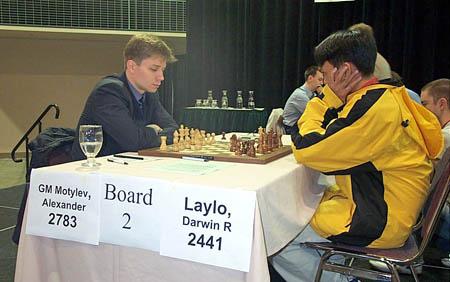 GM Alexander Motylev vs. Darwin Laylo (0-1!)