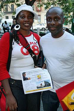 Adia Onyango and NM Jerald Times.
